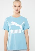 PUMA - Classic logo tee - blue