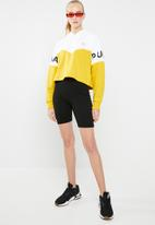 PUMA - Xtg colourblock hoodie - yellow & white