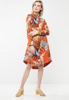 AMANDA LAIRD CHERRY - Buang tunic  - orange
