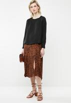 AMANDA LAIRD CHERRY - Neo blouse - black