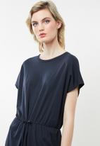 Vero Moda - Rebecca shorter length dress - navy