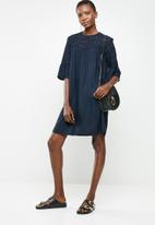 ONLY - Rina denim dress - navy