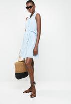 Vero Moda - Mabena  short shirt dress - blue