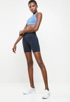 Nike - Nike Air Swoosh sports bra - blue