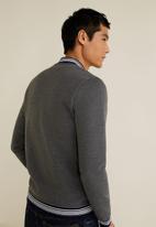 MANGO - Page jacket - grey