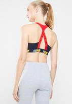 adidas Performance - Strong for it moto graphic bra - navy & red