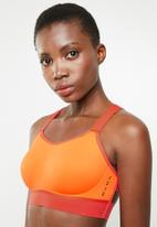 Nike - Nike breathe sports bra - orange