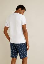MANGO - Pyjamap pijama pack - navy & white