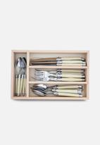 André VERDIER - 24pce cutlery set - ivory