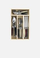 André VERDIER - 24pce cutlery set - tradition