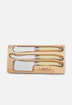 André VERDIER - 3pce cheese set - ivory