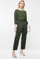 Jacqueline de Yong - Mynte pullover knit - green
