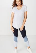 Cotton On - Maternity gym T-shirt  - grey