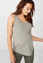 Cotton On - Maternity training tank top  - grey