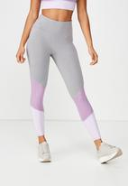 Cotton On - So soft marle 7/8 tight  - multi