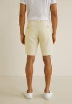 MANGO - Carp 4 bermuda shorts - off white