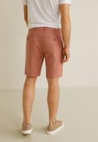 MANGO - Carp 4 bermuda shorts - pink