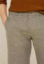 MANGO - Carp 4 bermuda shorts - khaki green
