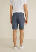 MANGO - Carp 4 bermuda shorts - navy