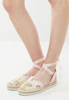 Vero Moda - Aura espadrille - pink