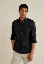 MANGO - Play shirt - black