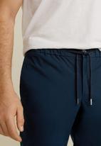 MANGO - Roma 4 trousers - navy