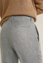 MANGO - William trousers - black & white
