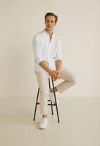 MANGO - Chennai shirt - white