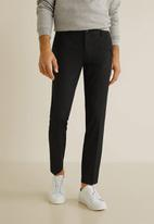 MANGO - Bologna 4 trousers - black