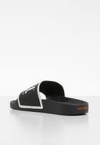 Diesel  - SA-valla w slides - black/star white/orange