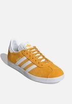 adidas Originals - Gazelle - active gold/ftwr white/ftwr white