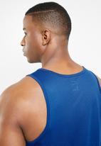 Nike - Nike run tank - blue