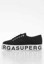 SUPERGA - 2790 Canvas logo - black & white