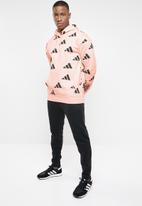 adidas Performance - Tp oh hoodie - pink & black