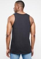 Hurley - One and only tank top  -  black
