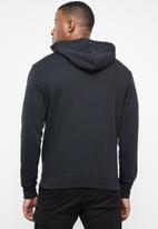 Hurley - Surf check one & only pop hoodie - black