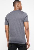 Hurley - Oao short sleeve solid tee - charcoal