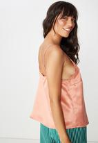 Cotton On - Satin woven cami - pink