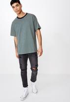 Cotton On - Dylan short sleeve tee - green & white