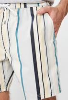 Cotton On - Hoff multi stripe shorts - multi