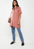 Superbalist - Longer length shirt - pink