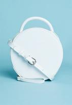 Superbalist - Round croc like bag - white