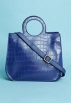 Superbalist - Round handle tote bag - blue