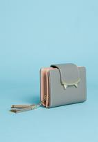 Superbalist - Cat like ear detail purse - grey