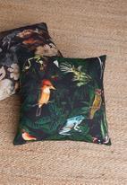 Hertex Fabrics - Pandore cushion cover - noir