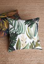 Hertex Fabrics - Machu outdoor cushion cover - greenery