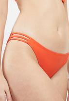 Sissy Boy - Strappy bikini bottoms - orange