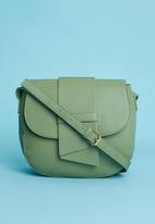 Superbalist - Fold detail bag - green