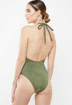 BeachCult - Pandora one piece - green