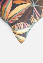 Hertex Fabrics - Machu outdoor cushion cover - burn